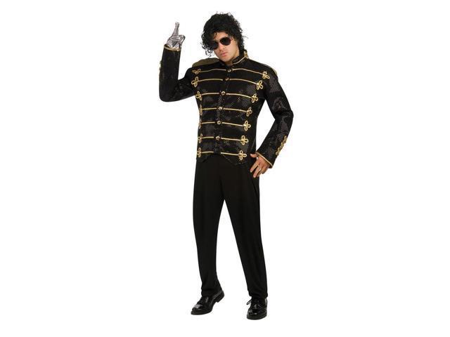 Michael Jackson Black Military Jacket Adult Large