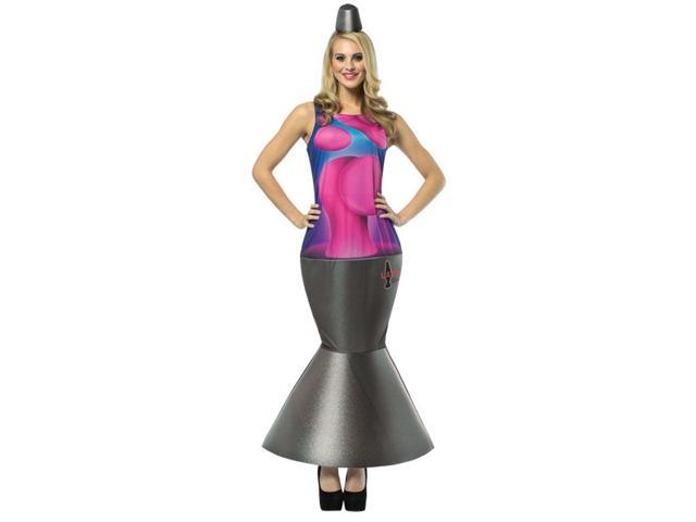Lava Lamp Dress Costume Adult 4-10