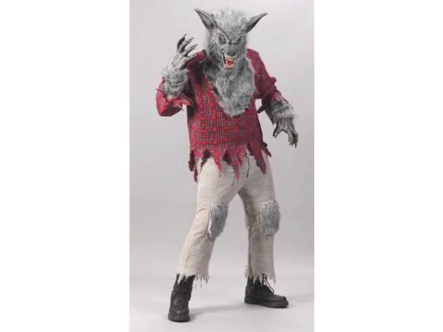 Werewolf Grey Adult Costume Standard