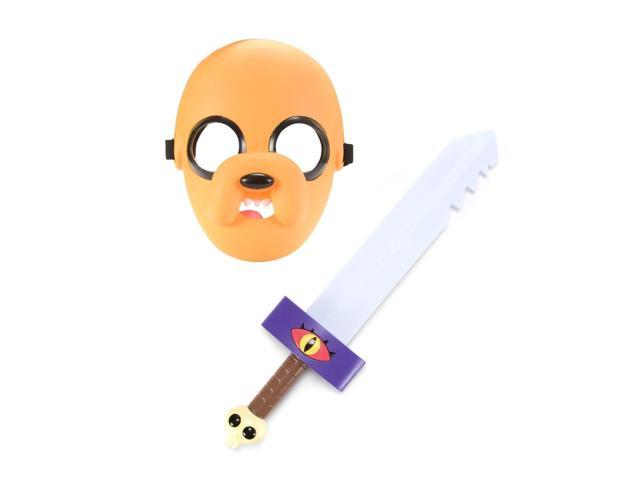 Adventure Time Mask And Sword Jake