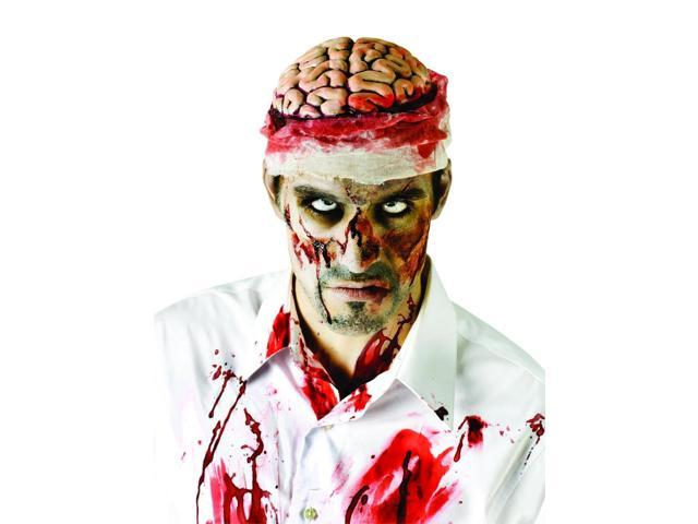 Bloody Brain Headpiece Costume Accessory Adult One Size