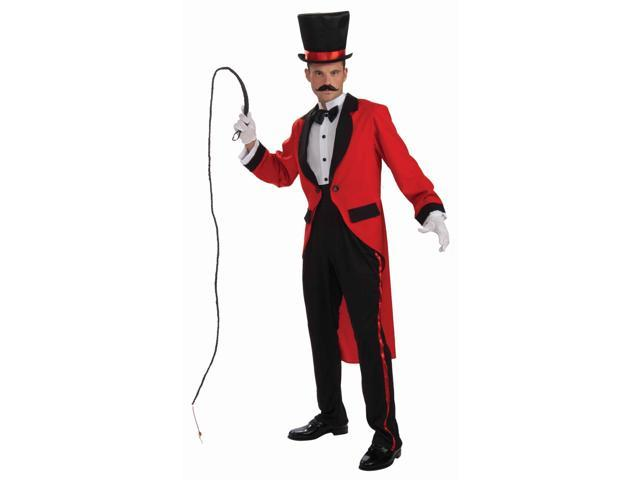 Circus Ring Master Tailcoat Costume Adult Standard