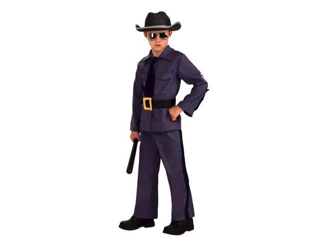 State Trooper Costume Child Large 12-14