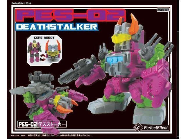 Perfect Effect Action Figure: PES-02 Deathstalker Core Robot