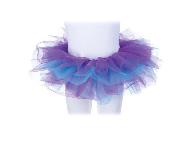 Tutu Costume Accessory Child: Blue & Purple One Size Fits Most