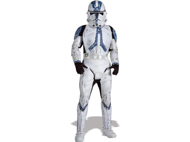 Star Wars Deluxe Clone Trooper Child Costume Large