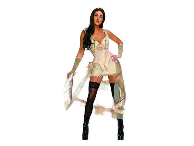 Jonah Hex Megan Fox Deluxe Leila Sexy Adult Costume White Small
