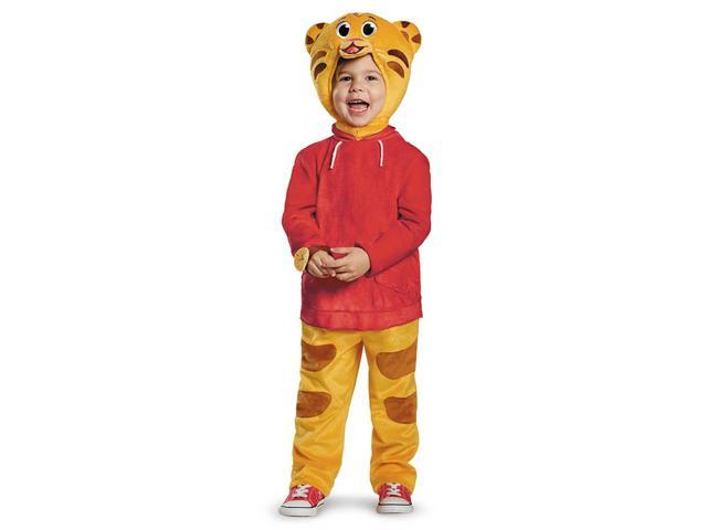 Daniel Tiger's Neighborhood Deluxe Daniel Tiger Child Toddler Costume 4-6