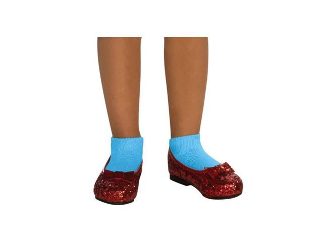 The Wizard Of Oz Dorothy Sequin Costume Shoes Child Medium