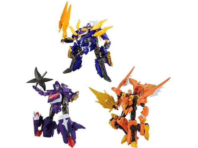 Transformers Go! Goukekisou Set of 3 with G-05 G-10 G-20