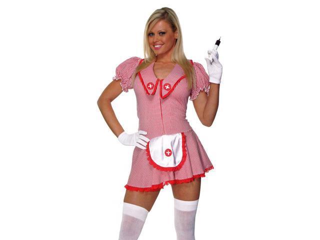 Sexy Candy Striper Adult Costume Medium