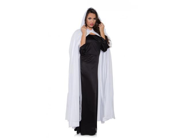 Ghost Adult Costume Full Length Tattered White Cape One Size