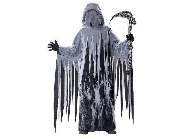 Soul Taker Grim Reaper Costume Child Medium 8-10