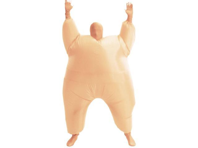 Inflatable Chub Suit Costume: Nude One Size Fits Most