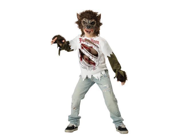 Werewolf Boy Designer Costume Child XX-Large