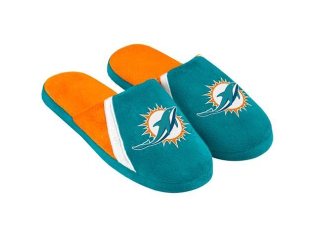 Miami Dolphins NFL Swoop Logo Slide Slippers Small