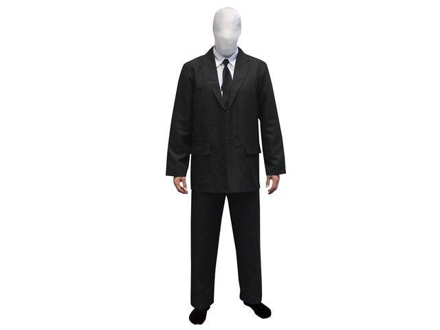 Slenderman Adult Costume Morphsuit Large