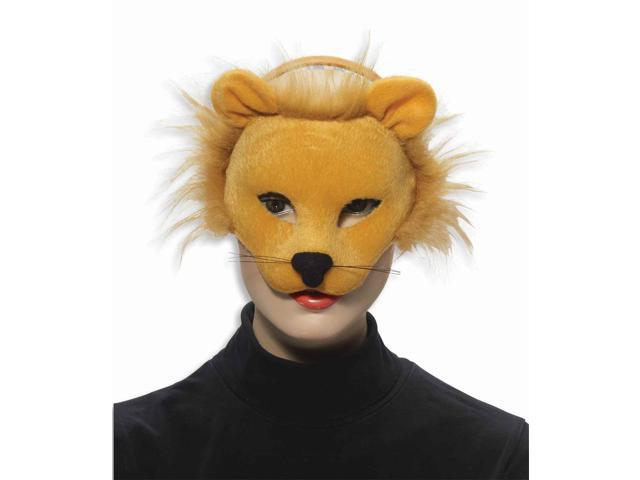Deluxe Plush Animal Costume Mask - Lion