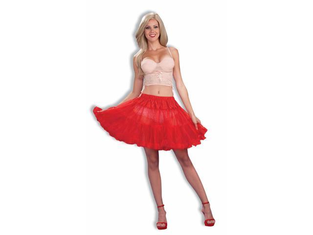 Red Short Crinoline Tutu 16