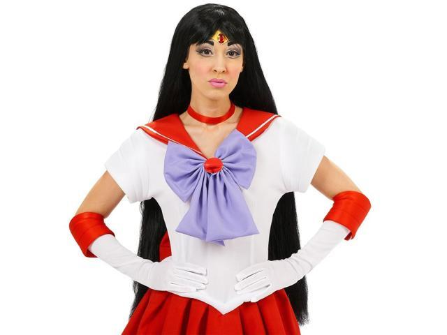 Sailor Moon Mars Costume Wig One Size