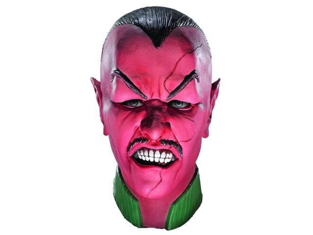 Green Lantern Deluxe Sinestro Overhead Latex Costume Mask Adult