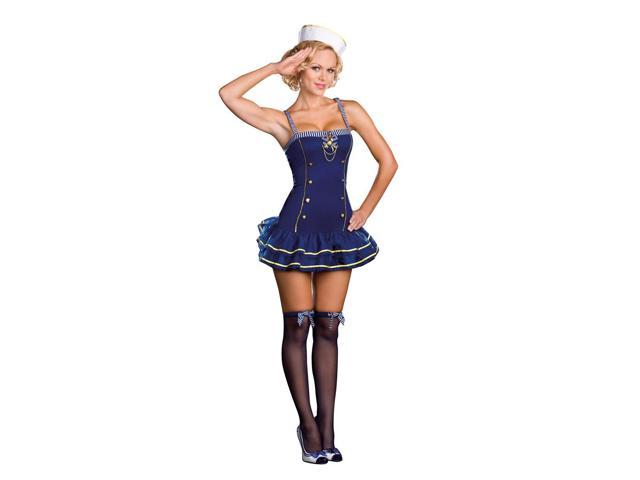 Sexy Sailor Girl Makin' A Splash Costume Adult Large