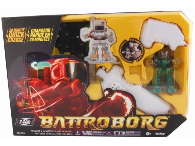 Battroborg Single Pack With Green Battroborg