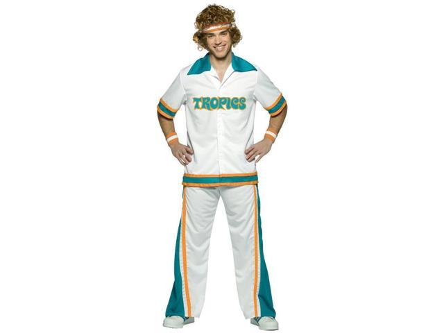 Semi Pro The Movie Jackie Moon Warm Up Suit Adult Costume Large/X-Large