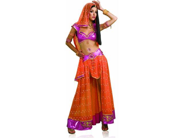 Sexy Indian Bali Bollywood Belly Dancer Costume Adult Large