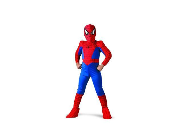 Marvel Spider-Man Deluxe Costume Child 7-8