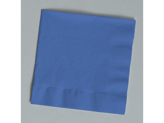 Touch Of Color 50 Count Luncheon Napkins True Blue