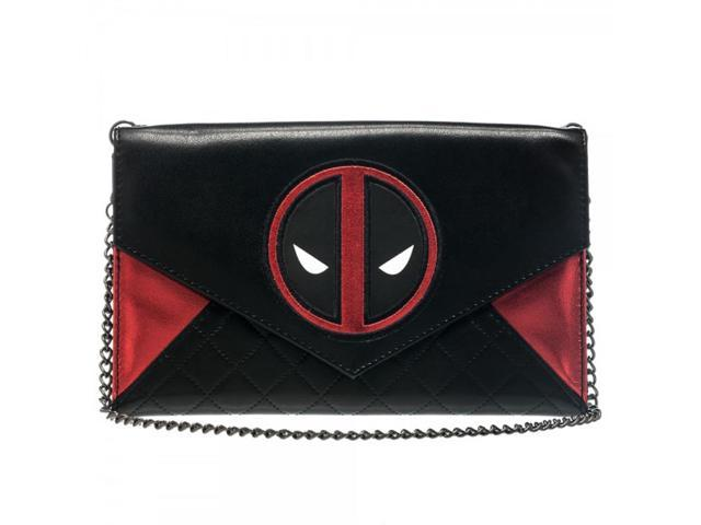 Marvel Deadpool Envelope Wallet w/ Chain