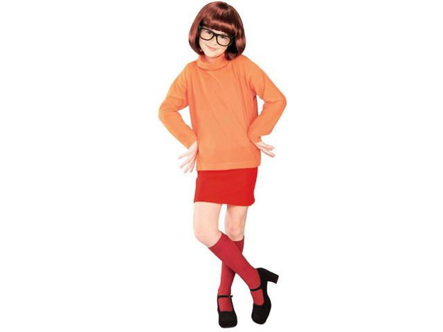 Scooby Doo Velma Child Costume Large