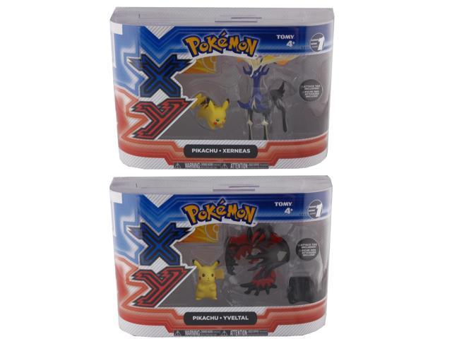 Pokemon XY 2 Pack Figures Set Of 2
