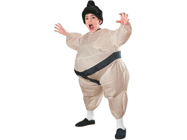 Sumo Wrestler Inflatable Child Costume Standard