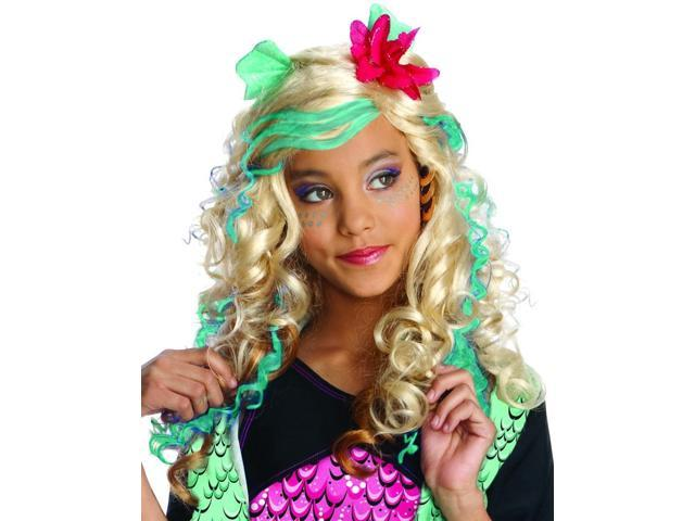 Monster High Lagoona Blue Costume Wig
