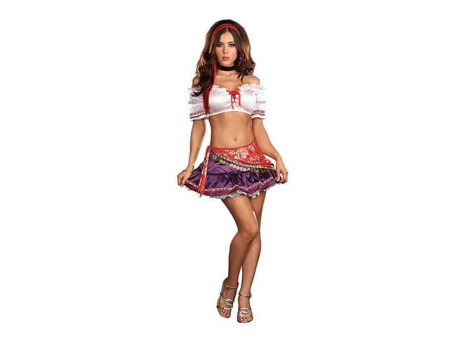 Sexy Gypsy Krystal Ball Costume Adult X-Large