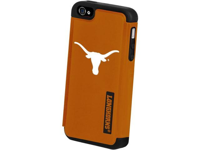 Texas Longhorns NCAA Dual Hybrid 2-Piece Apple iPhone 4 Cover