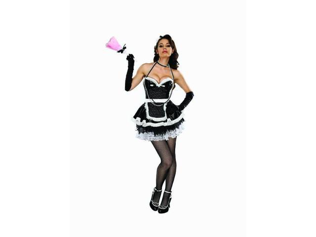 Sexy Maid In France Costume Adult Small/Medium