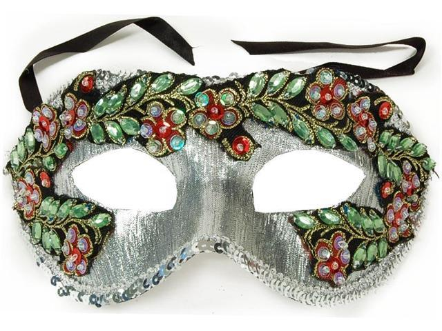 Princess Floral Adult Costume Mask Style C