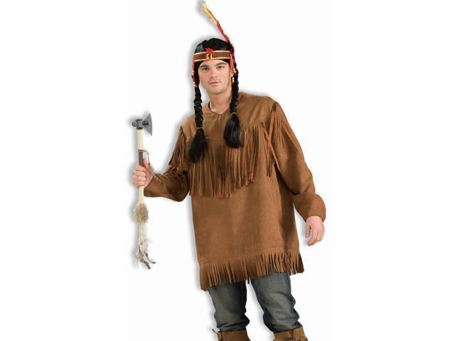 Native American Costume Fringed Shirt Adult