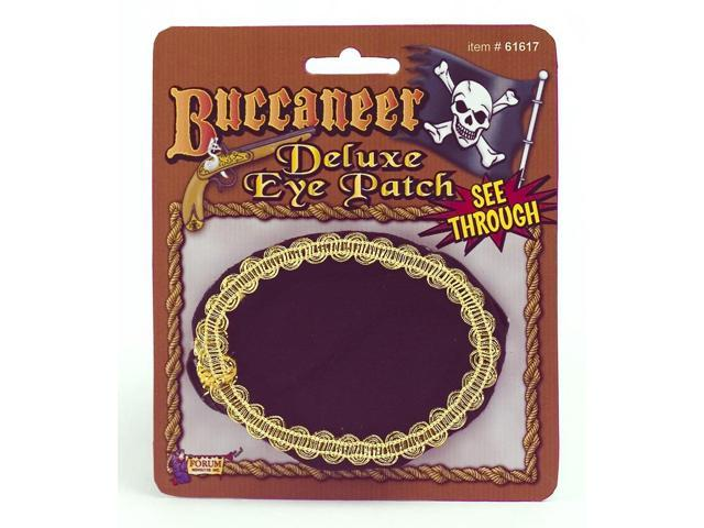 Deluxe Pirate Costume Eye Patch Accessory