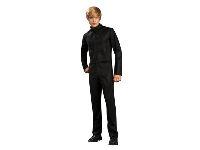 Bruno Black Velcro Outfit Costume Adult Small