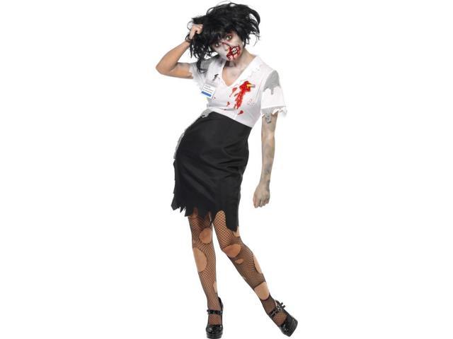 Worked To Death Office Zombie Costume Adult Female X-Small