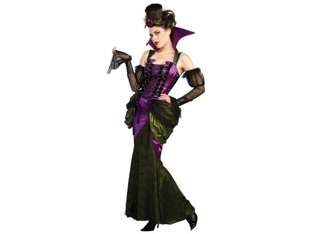Victorian Gothic Mistress Vampiress Dress Costume Adult Standard