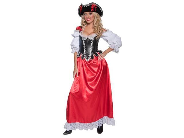Lady Pirate Wench Costume Adult Medium