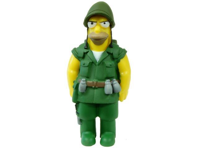 The Simpsons 20th Anniversary Figure Seasons 6-10 Fighting Abe Simpson