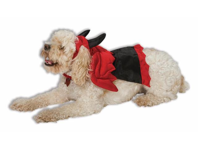 Red Devil Dog Cat Pet Costume Large