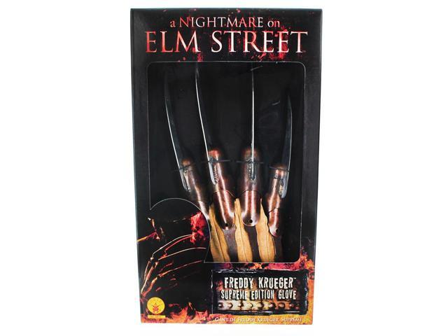 Nightmare On Elm St. Movie Supreme Edition Metal Freddy Costume Glove