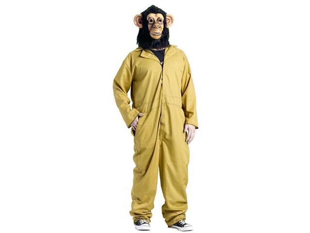 30 Minutes Or Less Working Chimp Costume Adult One Size Fits Most One Size